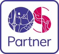 ordnance survey partner logo, os partner, open tracking