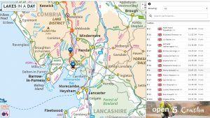 Mapping using Ordnance Survey, Google, Bing and Open source mapping. Customised maps can be used.